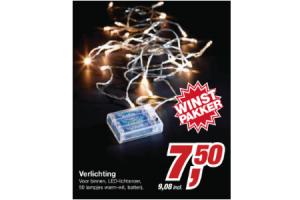 makro verlichting 50 lampjes