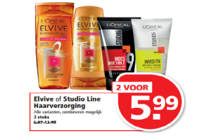 elvive of studio line haarverzorging