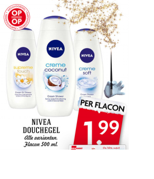 nivea douchegel
