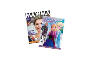disney frozen winterboek royalty sante superpuzzel pakket vriendin party prive maxima specialof weekend