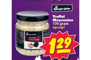 bijzonder lekker truffel mayonaise 170gram
