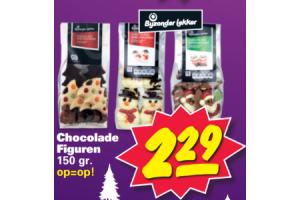 bijzonder lekker chocolade figuren 150gram