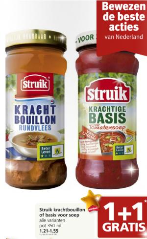 struik krachtbouillon of basis voor soep