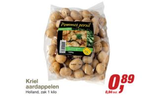 kriel aardappelen