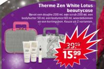 therme zen white lotus beautycase