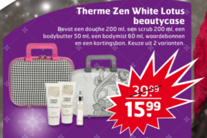 therme zen white lotus beautycase