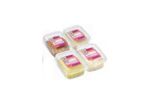 ambachtelijk verpakte salades
