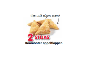 roomboter appelflappen