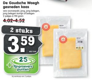 de goudsche waegh gesneden kaas