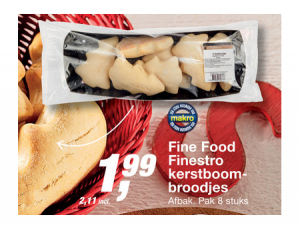 fine food finestro kerstboombroodjes