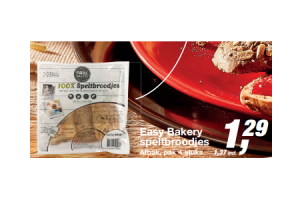 easy bakery speltbroodjes