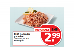 plus hollandse garnalen