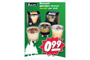 dessertglaasjes