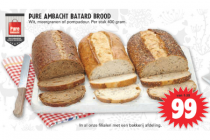 pure ambacht batard brood