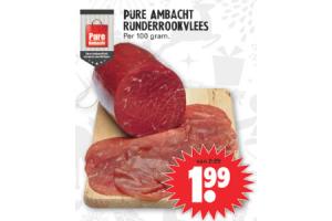 pure ambacht runderrookvlees