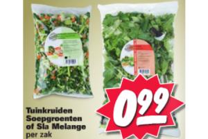 tuinkruiden soepgroenten of sla melange