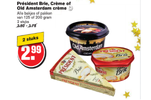 president brie creme of old amsterdam creme