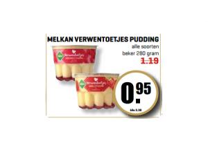 melkan verwentoetjes pudding
