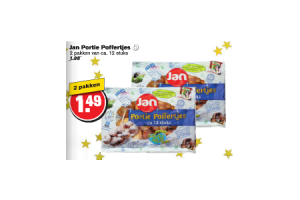 jan portie poffertjes