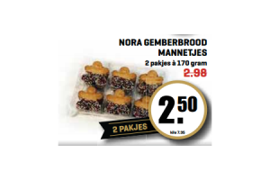nora gemberbrood mannetjes