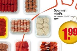 gourmet minis