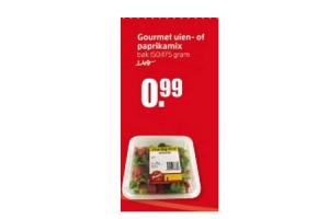 gourmet uien  of paprikamix