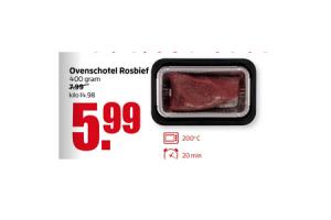 ovenschotel rosbief