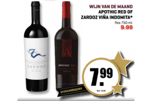 apothic red of zardoz vina indomita