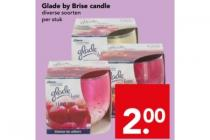 glade by brise candle