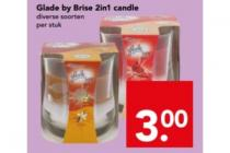 glade by brise 2in1 candle