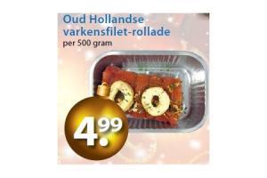 oud hollandse varkensfilet rollade