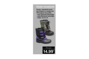 kinder snowboots
