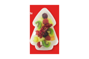 luxe fruitsalade kerstboom