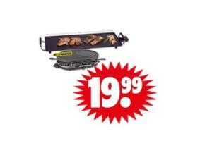 grillplaat of gourmet raclette