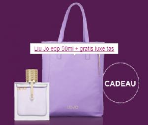 luxe tas bij aankoop van een liu jo eau de parfum 50 ml