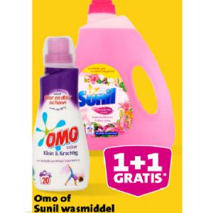omo of sunil wasmiddel