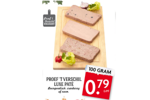 proef t verschil luxe pate