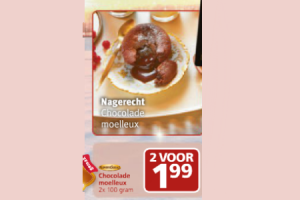 chocolade moelleux