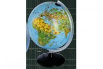 verlichte globe