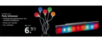 party lichtsensor
