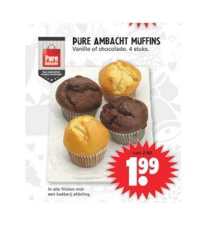 pure ambacht muffins
