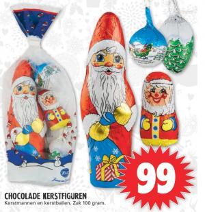 chocolade kerstfiguren