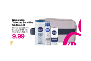 nivea men toilettas sensitive cadeauset
