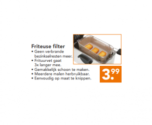 friteuse filter
