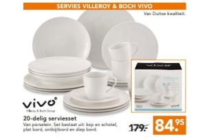servies villeroy en boch vivo