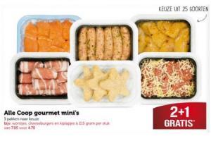 coop gourmet minis