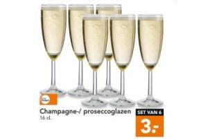 champagne  proseccoglazen