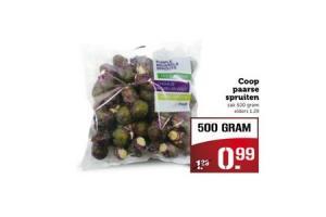 coop paarse spruiten