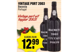 vintage port dacosta