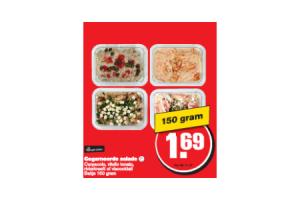 gegarneerde salades